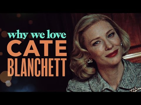 For Cate Blanchett, It's Not Just a Job