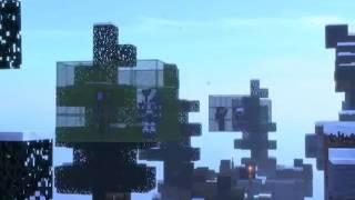 Animação de skywars minecraft - final engraçado primeiro vídeo do canal