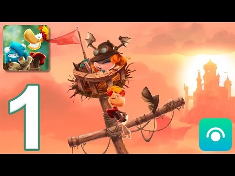 Rayman Adventures - Gameplay Walkthrough Part 1 - Adventures 1-2 (iOS, Android)
