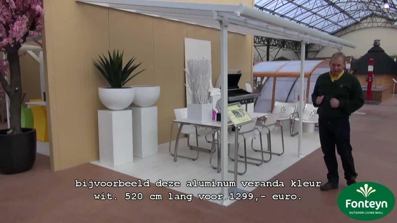 de grootste veranda showroom fonteyn youtube