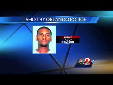 Man shot by police, in serious condition