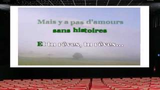 Karaoké - Francis Cabrel - C'est écrit