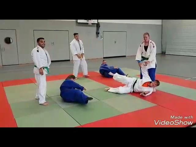 Judo-Wurf