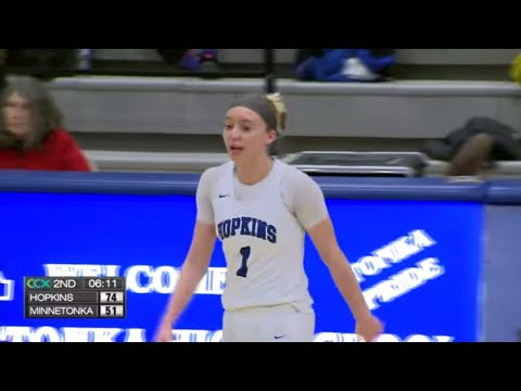 Hopkins vs. Minnetonka Girls High School Basketball