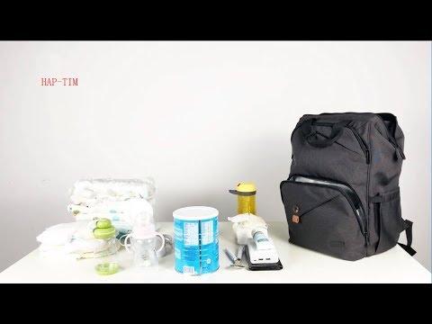 Hap Tim Baby Diaper Bag Backpack Nappy Bag Backpack