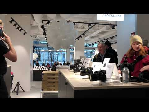 Scandinavian Photo new store in Stockholm