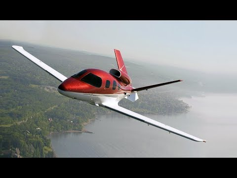 World's Smallest Private Jet - The Vision Jet