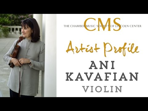 Ani Kavafian Artist Profile - January 2014