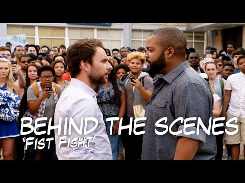 Take a look Behind the Scenes with Ice Cube at 'Fist Fight'