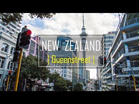 Walk around Queen Street, Auckland | New Zealand | in 3 mins