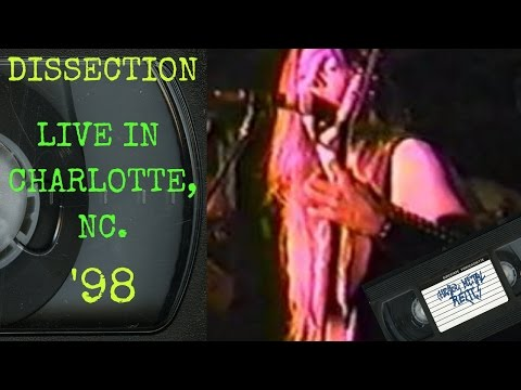 Dissection Live in Charlotte NC March 5 1996 FULL CONCERT
