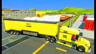Lego Cars & Trucks vs Lego Train - Brick Rigs - Realistic Crashes