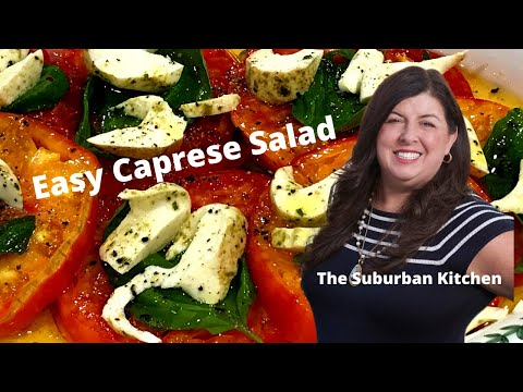 Easy Caprese Salad I The Suburban Kitchen
