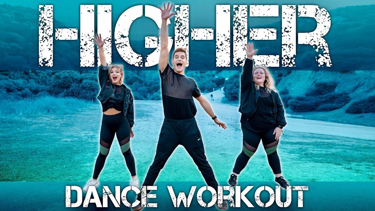 Clean Bandit - Higher (feat. iann dior)   Caleb Marshall   Dance Workout