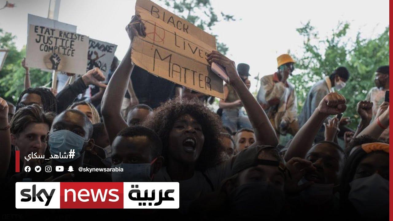 احتجاجات بمينيابوليس بعد قتل الشرطة لشاب من أصل إفريقي  - نشر قبل 3 ساعة