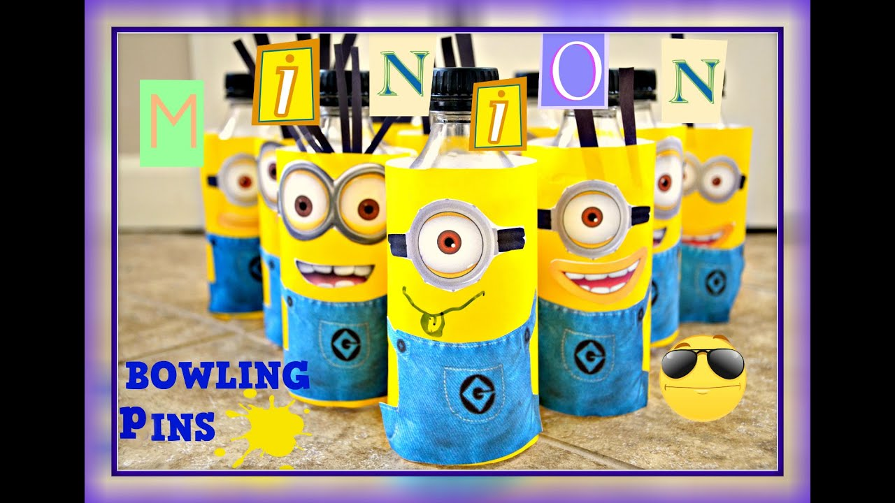 5 Pin Bowling Youtube 7 Trailer Wire Diagram How To Make Minion Pins At Home Handmade