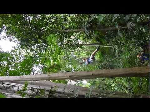 Zipline Adventure Tour In Chiang Mai, Thailand : Abseiling At The Flight Of The Gibbon