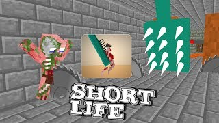 Monster School SHORT LIFE CHALLENGE Minecraft Animation
