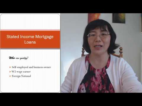 Stated Income Mortgage Loans In 2018