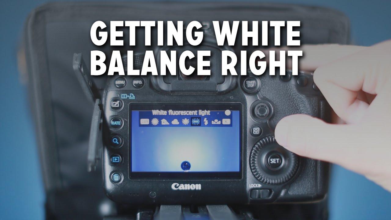 Getting Custom & Manual White Balance Right