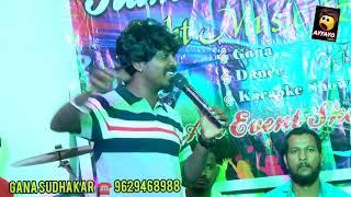 Airtel super singer GANA SUDHAKAR   DMK Kanchipuram PONNA Anna and BALAJI SONG