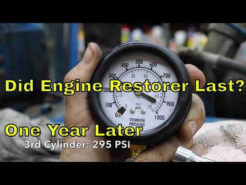 Did the 'Engine Restore' Compression Improvement Last?  One year later (Episode 2)