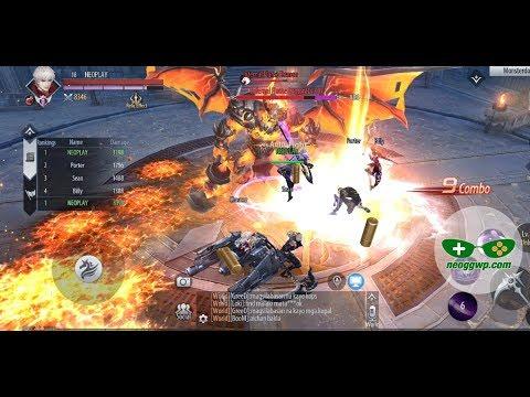 Dragonborn Knight (Android IOS APK) - MMORPG Gameplay, Bloodborn Lv.1-67