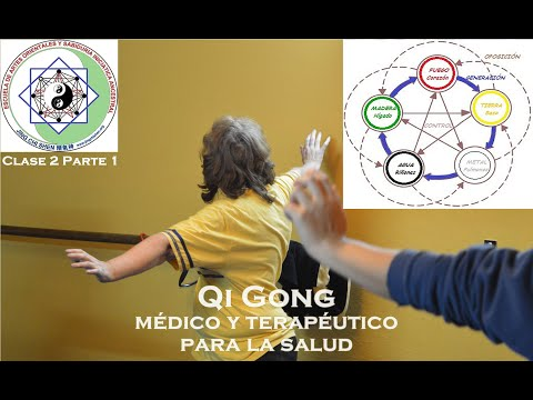 Clase 2 parte 1 | 5 elementos (movimientos ), ciclos de generación, yin yang Tai Chi Kung (Qi Gong)
