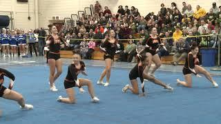 Montville High School at 2019 ECC Cheerleading Championship