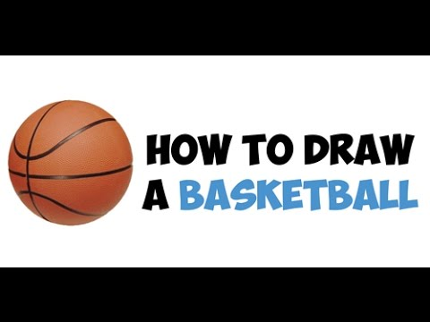 How to Draw a Basketball Easy Step by Step Drawing Tutorial Lesson