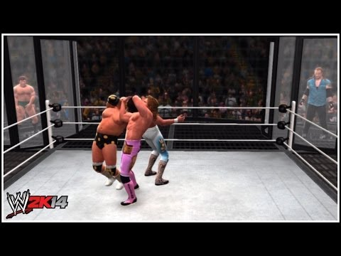 WWE 2K14 DLC Pack 3 - EPIC Elimination Chamber Match Featuring Badass Undertaker! |