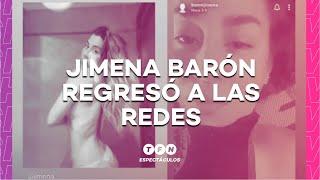 JIMENA BARÓN VOLVIÓ a las REDES SOCIALES: ¿Se peleó con OSVALDO? - Espectáculos en #TFN