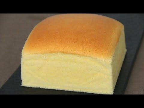 Japanese Cotton Sponge Cake 日式海绵蛋糕