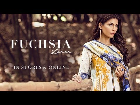 f61a0b4202 Fuchsia Linen by Baroque Winter Collection 2017 2018 - YouTube