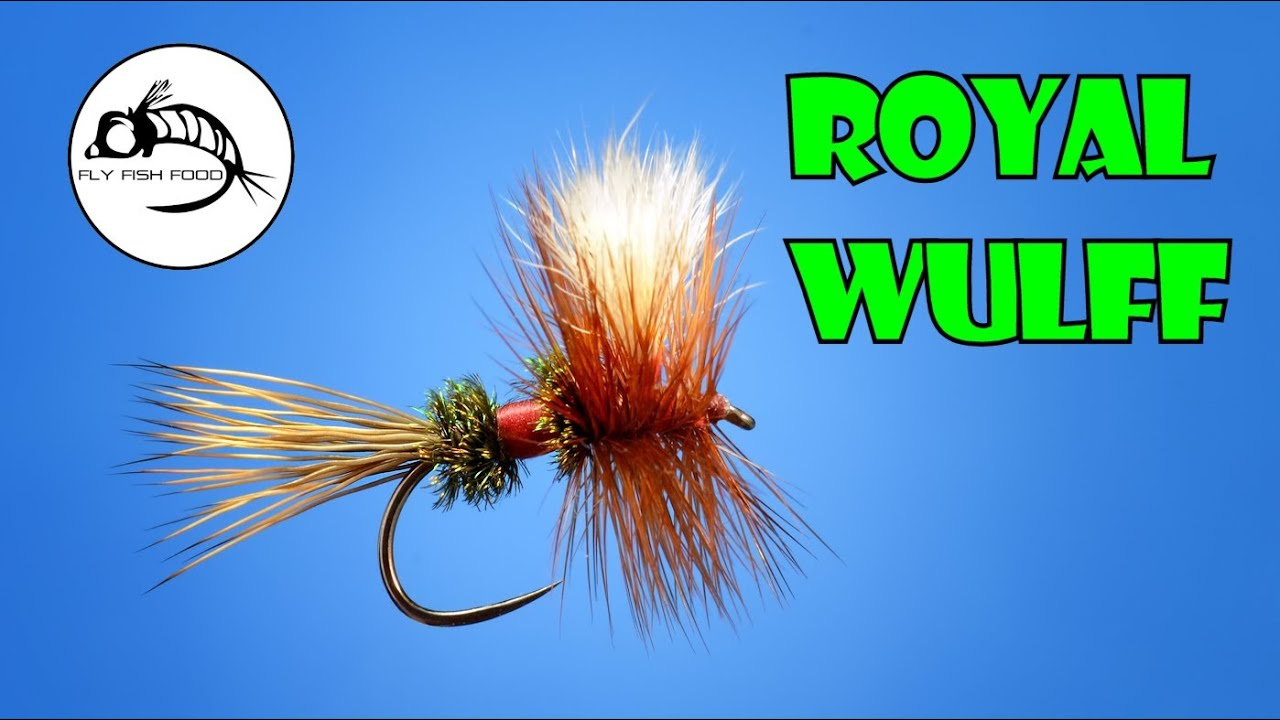 Fly Tying Tutorial: Royal Wulff (By Fly Fish Food) - Allen Fly Fishing
