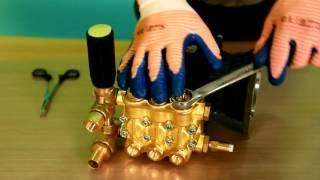 Ремонт Апарату Високого Тиску, заміна клапанів в помпі 3WZ