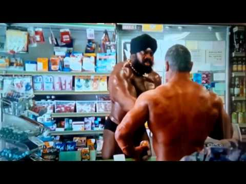 Funny Tango Orange drink Ad - its so powerfulful that make you feel like Pro Bodybuilder