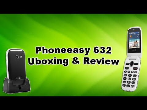 Doro Phoneeasy 632 (Uboxing & Review)