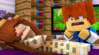 Minecraft Daycare - SLEEPING TINA !? (Minecraft Roleplay)