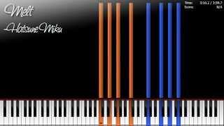 Melt by Hatsune Miku (Piano Version)