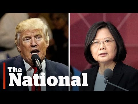 Trump's phone conversation with Taiwanese president stirs controversy