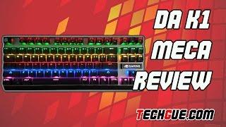 review keyboard gaming da k1 meca bahasa indonesia
