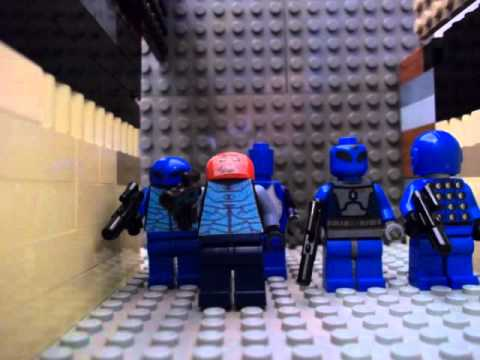 Lego Sontarans vs UNIT