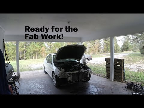 Lexus IS300 Single Turbo Build pt.7 - Final Assembly for Fabrication!