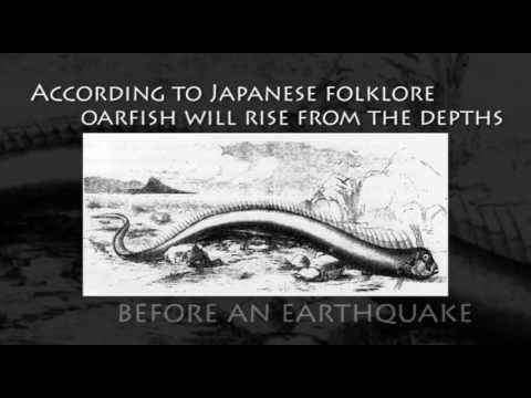 Oarfish Earthquake Legend