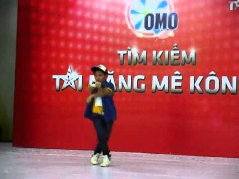 THIEN PHUC  & bai BAY vong loai chuong trinh OMO tim kiem tai nang MEKONGMVI 0169