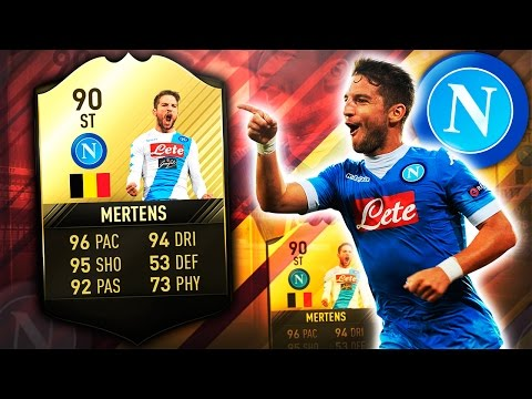 6IF MERTENS 90 SHOULD NOT BE ALLOWED!! FIFA 17 ULTIMATE TEAM