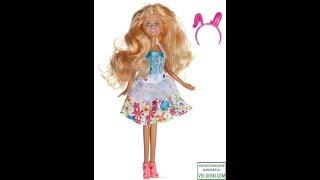 Обзор: Shantou Кукла Ardana цвет платья белый бирюзовый