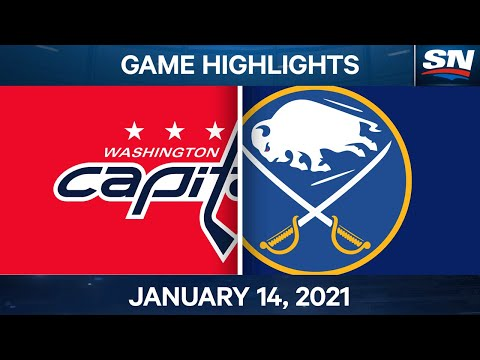 NHL Game Highlights | Capitals vs. Sabres – Jan. 14, 2021