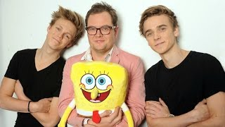 CASPAR LEE AND JOE SUGG IN SPONGEBOB MOVIE !ad